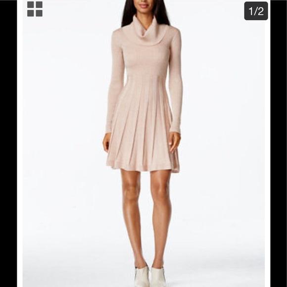 176acf94f2 Calvin Klein Cowl Neck Sweater Dress Womens